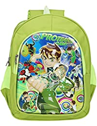 Aadhunik Libaas Ben10 Polyester School Bag, Travelling Bag, Carry Bag, Picnic Bag, Backpack For Boy's (Age Group...