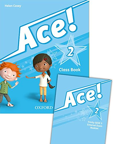 Pack: Ace 2. Class Book. Student's Book (+ Songs CD ) - Exam Edition - 9788467384475