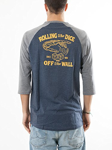 Vans Roll Em Raglan Heather Navy/he Heather Navy/he