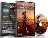 Fitness Reisen -Am Strand entlang, Radfahren und Laufband-Training