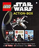 LEGO Star Wars Action-Box: Exklusives LEGO Star Wars Miniset X-Wing-Fighter mit 61 Teilen  3 LEGO Bücher   Über 500 Sticker