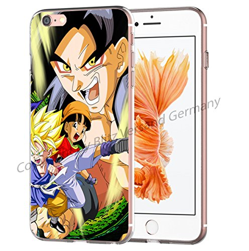 Blitz® Dragon Ball Z motifs housse de protection transparent TPE iPhone M9 iPhone 7 M8