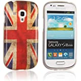 tinxi® Protective Case for Samsung Galaxy S3 mini i8190 TPU Silicon Back Cover Skin shell UK England flag Old Fashion pattern