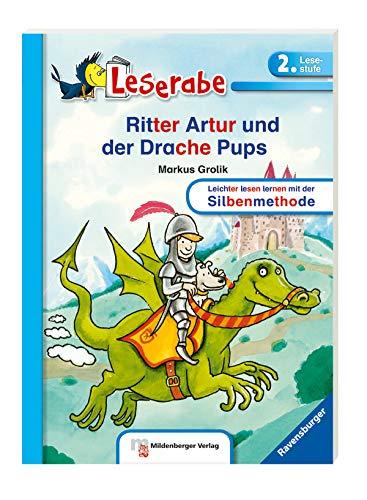 Ritter Artur und der Drache Pups (Leserabe mit Mildenberger Silbenmethode) (Des Ritter Drachen)