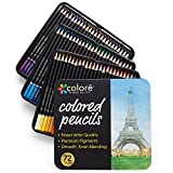 Best Lápices para adultos Libros para colorear - Lápices de Colores Colore – Set Premium de Review
