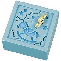Preisvergleich für Eine h?lzerne Spieluhr Melodie (Es ist eine kleine Welt) Pferde G-6179BL (Japan-Import)