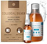 Highest Purity Colloidal Silver 300mL ● 40 PPM ● Free Spray to Fill