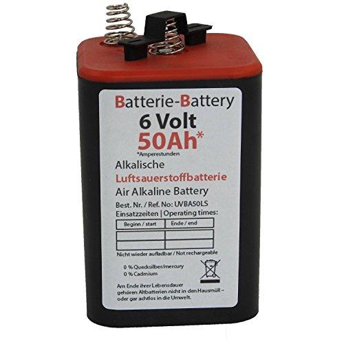 Preisvergleich Produktbild Luft-Sauerstoff-Batterie Kompakt 50 6V/50Ah