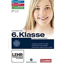 Lernvitamin Mix - Englisch/Deutsch/Mathe 6. Klasse - Einfach bessere Noten