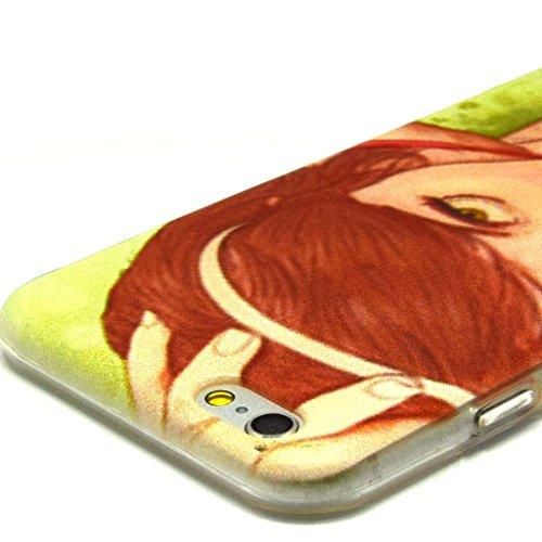 iPhone 6plus (14cm) Coque souple en TPU, yaobaistore Coque de protection en TPU Étui pour Apple iPhone 6plus (13,7cm) Étui souple en silicone gel