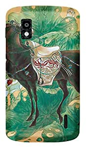 TrilMil Printed Designer Mobile Case Back Cover For LG Google Nexus 4 E960