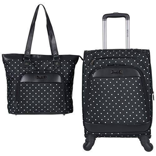 Kenneth Cole Aktentaschen (Kenneth Cole Reaction Dot Matrix 600d Polyester 2-Piece Luggage Set Laptop Tote, 20