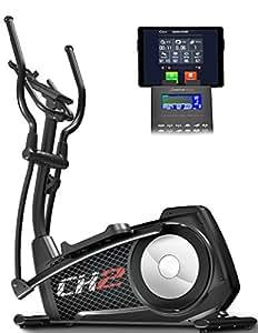 Sportstech CX2 Crosstrainer mit Smartphone App & integriertem Stromgenerator - Pulsgurt kompatibler Ellipsentrainer inkl. Bluetooth Konsole und Tablet-Halterung - inkl. Bodenschutzmatte