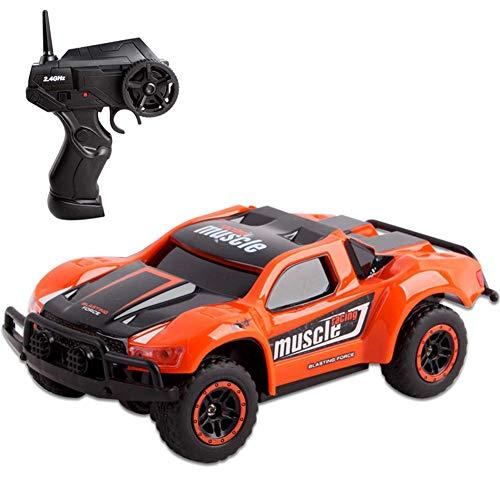 YANGSANJIN Ferngesteuertes Auto, 1:24 4WD RC Auto Off Road Buggy, 2.4 Ghz Radio Control Geländewagen Spielzeug Fahrzeug für Kinder Erwachsene im Drinnen und draußen Autos mit Fernbedienung, A -