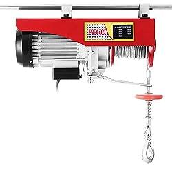 Chaneau Palan Electrique 220V Treuil à Câble Electrique 800kg Treuil-Palan Electrique Avec Télécommande (800kg)