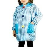 KLOTTZ - BABI CUADROS GUARDERIA niños color: TURQUESA talla: 5