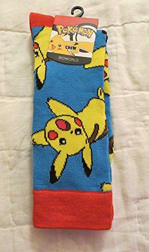 Pokemon-Pikachu-Azul-calcetines