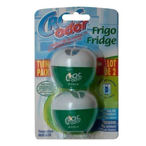 croc-odor-twin-pack-fridge-fresh-deodoriser-neutraliser-odour-freshener-food-safe