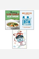 Mildreds: The Vegetarian Cookbook (Hardcover) and Skinny Slow Cooker Vegetarian Recipe Book with The Special Gift Journal for You 2 Books Bundle Collection Paperback