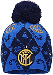 Inter Christmas Edition 2020 Beanie, Berretto Unisex – Adulto, Blu, One Size