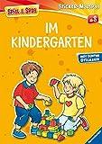 Im Kindergarten (Spiel & Spaß - Sticker-Malspaß)