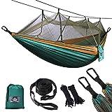 NATUREFUN Ultraleichte Moskito Netz Camping Hängematte