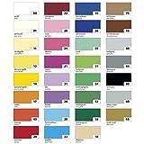 Folia 6122/4/09 Tonkarton 220g/m², DIN A4, 100 Blatt, 10 Farben zufällig, mehrfarbig (100 Bogen)