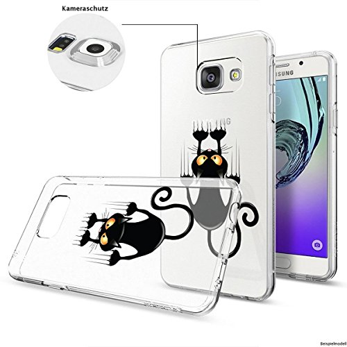 Motivo Serie 1 Custodia Rigida Iphone - You are non speciale nero, Samsung Galaxy S5 Gatto corto