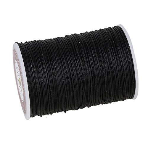 cnbtr-05mm-120m-polyester-waxed-line-leather-craft-sewing-wax-thread-cord-black-by-cnbtr