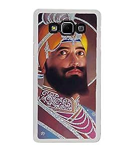 Guru Gobind Singh Ji 2D Hard Polycarbonate Designer Back Case Cover for Samsung Galaxy A8 (2015 Old Model) :: Samsung Galaxy A8 Duos :: Samsung Galaxy A8 A800F A800Y