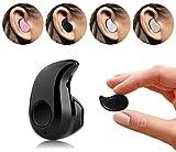 AIBULO® tragbar ultra klein mini Mikrofon - In-Ear - Stereo-Bluetooth-In-Ear Headset Earphone Kopfhörer Hände frei An