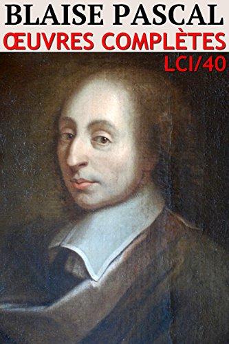 Couverture du livre Pascal - Oeuvres (40)