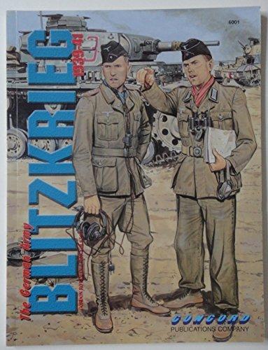 The German Army: Blitzkrieg, 1939-41 (Concord Fighting Men 6000) by Gordon L. Rottman (1995-02-01)