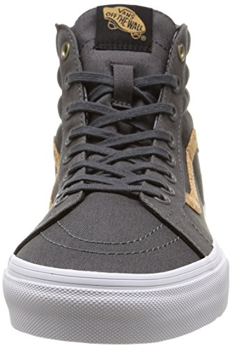 Vans - U Sk8-Hi Reissue Cork Twill, Sneakers unisex Grigio (Cork Twill/Dark Shadow)