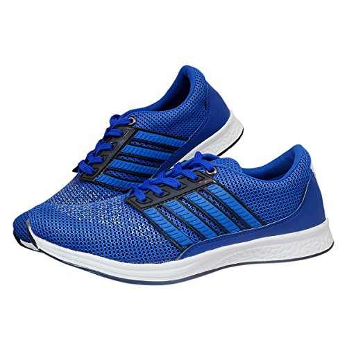 Shoes For Man\'s Men\'s Navy Blue Canvas Sneaker - 8