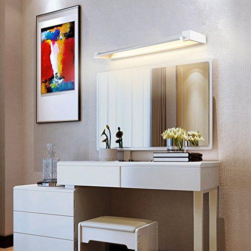 Ralbay LED Spiegelleuchte Spiegellampe 12W IP40 Bad Wandlampe Badlampe Badleuchte Bildleuchte Schrankleuchte Neutral weiß 1560Lumen 355°einstellbar 45cm/17.7inch