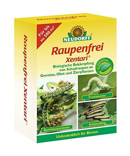 Neudorff Raupenfrei Xentari Bacillus thuringiensis biologisches Präparat 25 g Dose 63,80 EUR/100 g (Agro-tomaten-samen)