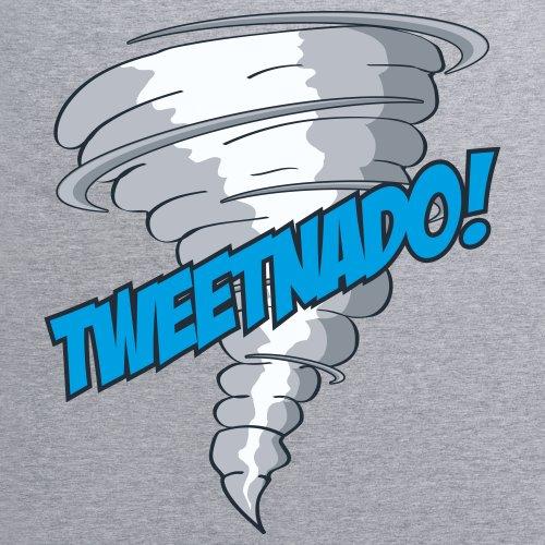 Tweetnado T-Shirt, Herren Grau Meliert