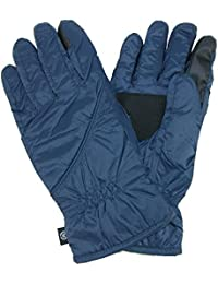 Isotoner Men's Touch Screen Gloves (Packs into Cuff)
