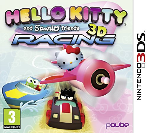 Hello Kitty and Sanrio Friends 3D Racing (Nintendo 3DS) [UK IMPORT] - Hello-kitty-racing-spiel