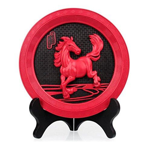 Crafts Cavallo per il successo di leadership Attivato carbone del salone della decorazione dell'ufficio del desktop l'azienda ha aperto