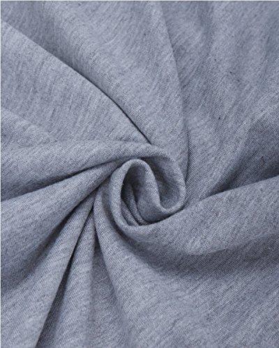 BIUBIU Damen Mode Hoodie mit Zip Langarm Pullover Jumper Pulli Sweatshirt Jumper 1#Gray
