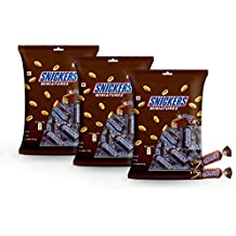 Snickers Chocolate Miniatures Diwali Gift Pack, 150g (Pack of 3)