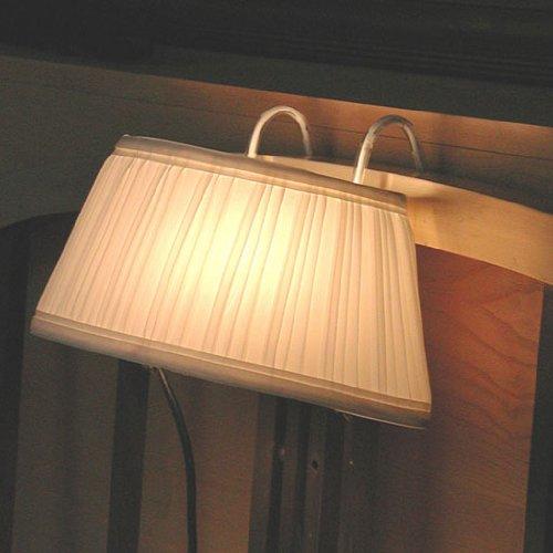 Nachttischlampe, Lampenschirm mit Haken für Bett-Kopfteil