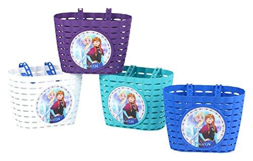 Disney Frozen Kinder Fahrrad Korb Walt Disney Kinder Fahradkorb, Farblich und Modell sortiert