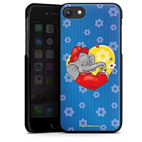 Apple iPhone X Silikon Hülle Case Schutzhülle Benjamin Blümchen Fanartikel Merchandise Blümchen für dich Hard Case schwarz