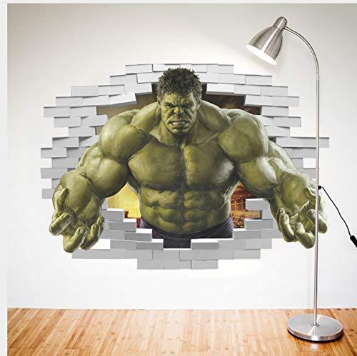 Superhéroes Comic Avengers The Incredible Etiqueta de La Pared de Vinilo Art Home Kids Boy Dormitorio Poster Thor Nursery Decor Decal