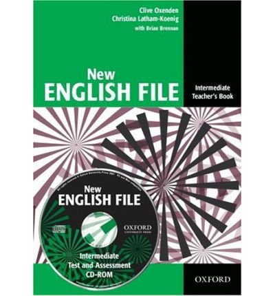 New English File: Intermediate: Teacher's Book with Test and Assessment CD-ROM: Six-level General English Course for Adults (Mixed media product) - Common
