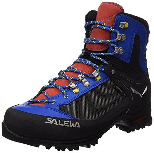 Salewa Ms Raven 2 Gtx, Chaussures de Randonnée Homme Bleu (Mayan Blue/papavero 8592)