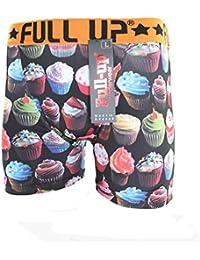 Full-Up - Sous-Vêtement Homme - Boxer Homme Microfibre Cupcake